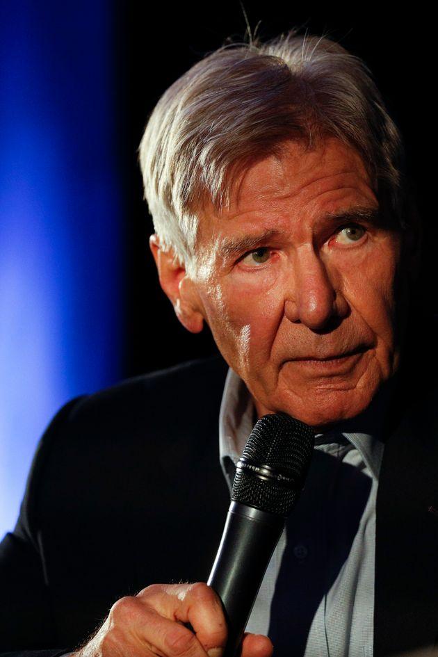 Harrison Ford, el pasado 5 de febrero, en México DF, presentando 'The Call of the