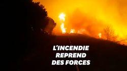 La tempête Ciara attise les flammes des incendies en