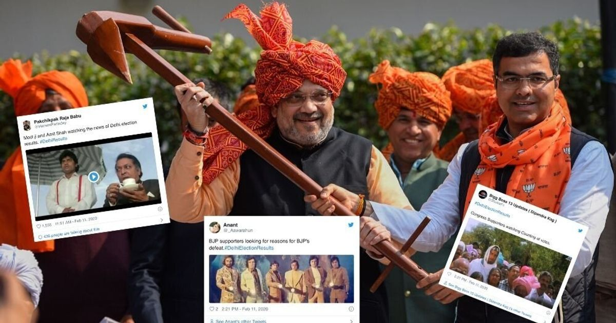 Delhi Election Results: Twitter Users Make Fun Of BJP's Divisive Agenda As AAP Heads For Win
