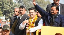 AAP's Raghav Chadha Wins From Delhi's Rajinder Nagar By 20,000