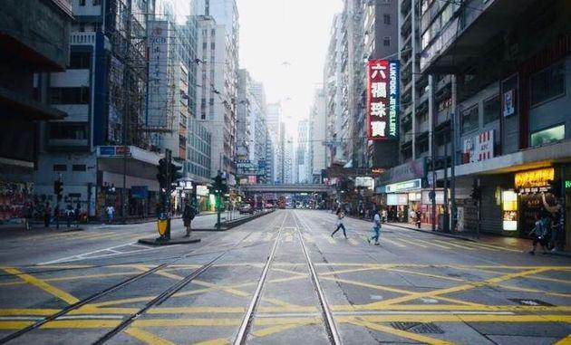 «Hong Kong serait-elle devenue une ville fantôme? Depuis quelques semaines, à cause...