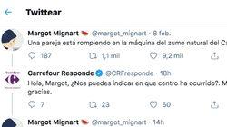 El delirio, hecho conversación de Twitter: Carrefour, una máquina y una