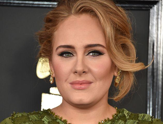 La cantante Adele, en los Grammy de