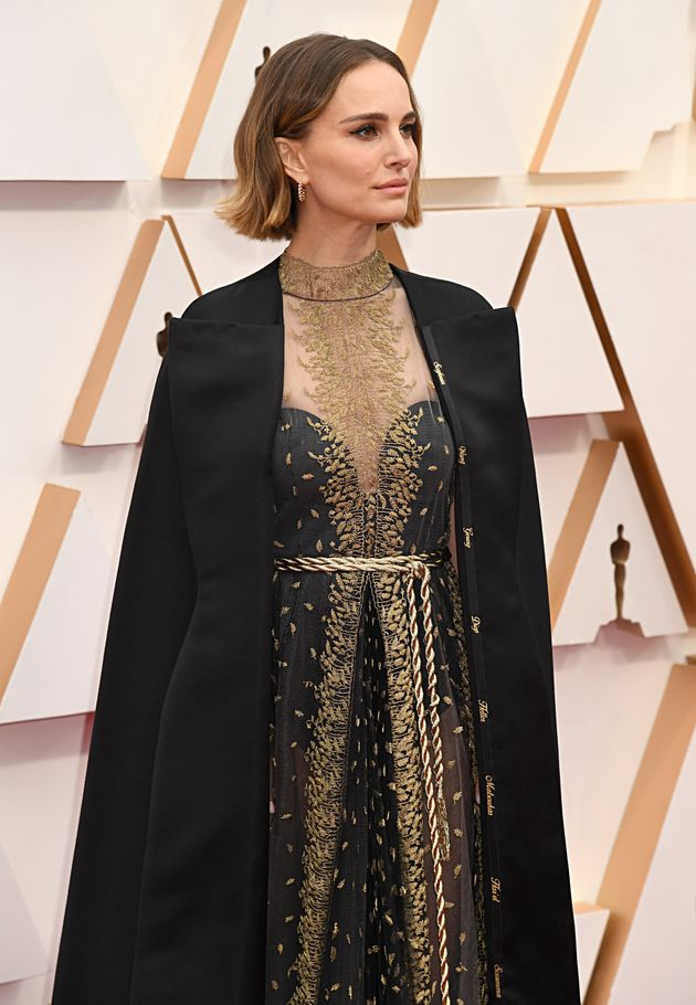 Oscars 2020: Points Have Been Made About Natalie Portmans Red Carpet Fashion Statement