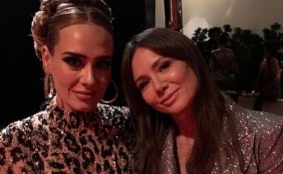 Adele e la conduttrice polacca Kinga