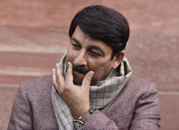 Delhi BJP president and Lok Sabha MP Manoj Tiwari