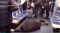 Μακάβρια φάρσα με «κορονοϊό» στο μετρό της