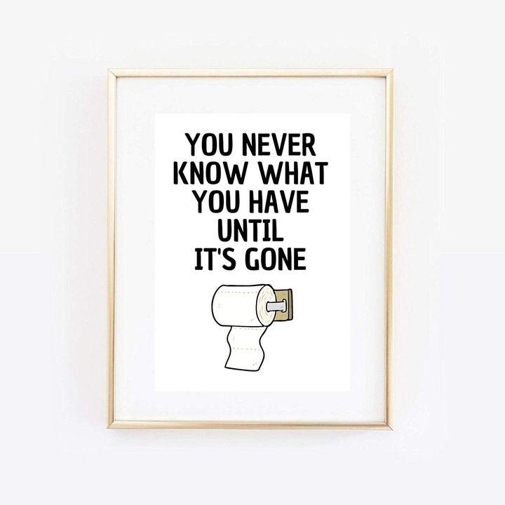 Din A4 Art Print Unframed Funny Saying, Etsy