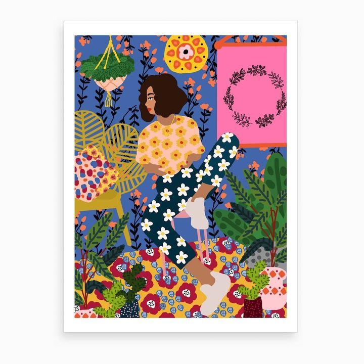 Just Chillin Art Print, Iamfy