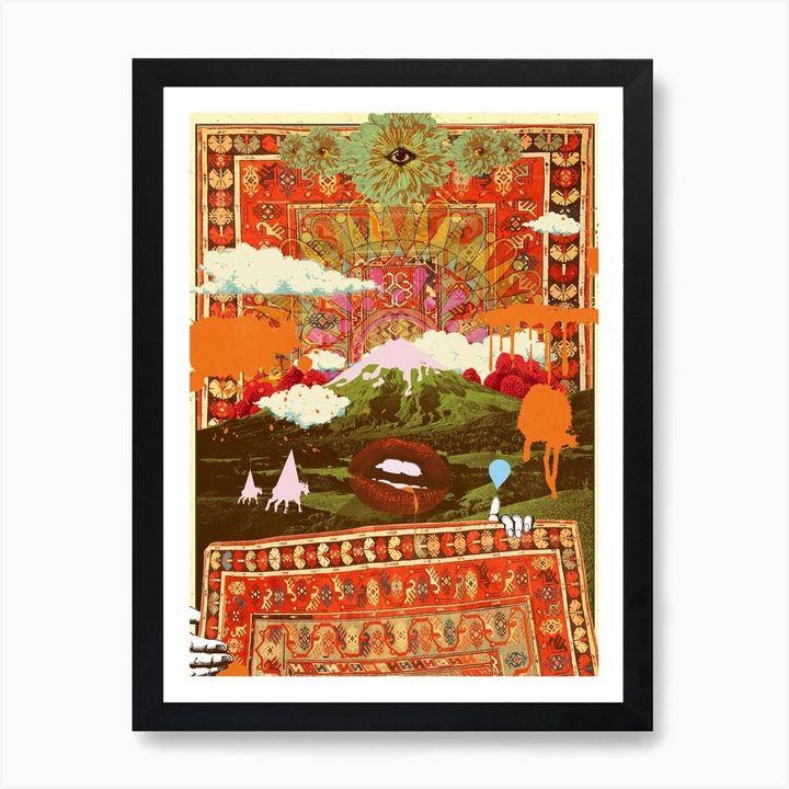 Morning Psychedelia Art Print, Iamfy