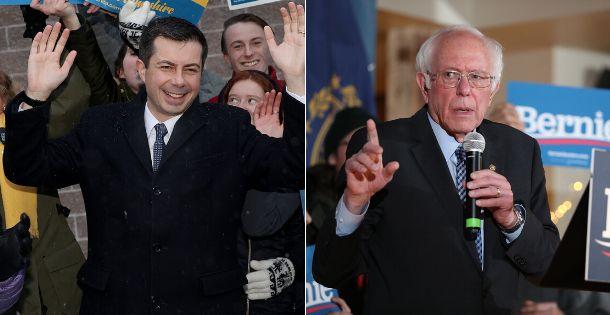 Pete Buttigieg et Bernie Sanders ont dominé les résultats de la primaire de