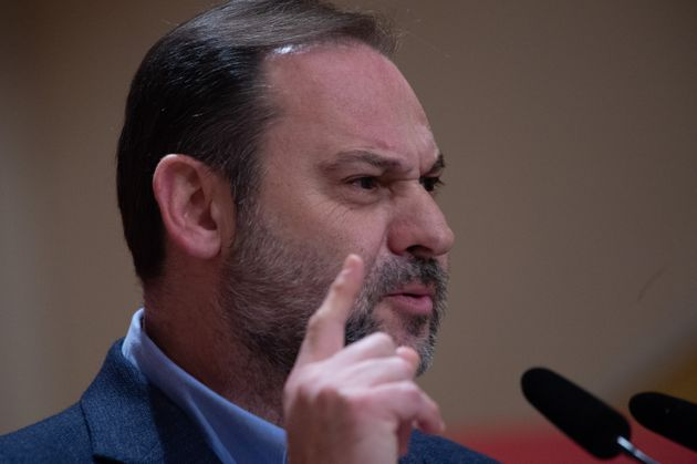 José Luis Ábalos, en un acto del