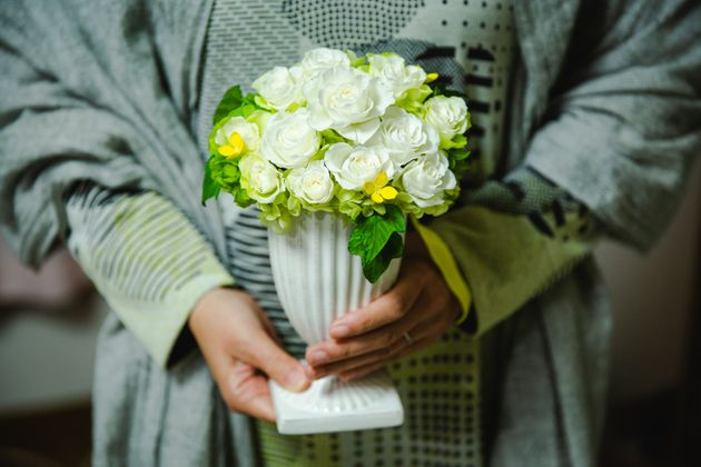 一橋さんがプロポーズした時、武田さんに贈った12本のバラ