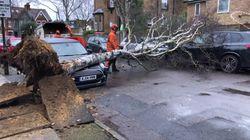 Al menos 6 muertos por la tormenta Ciara que sacude el norte de