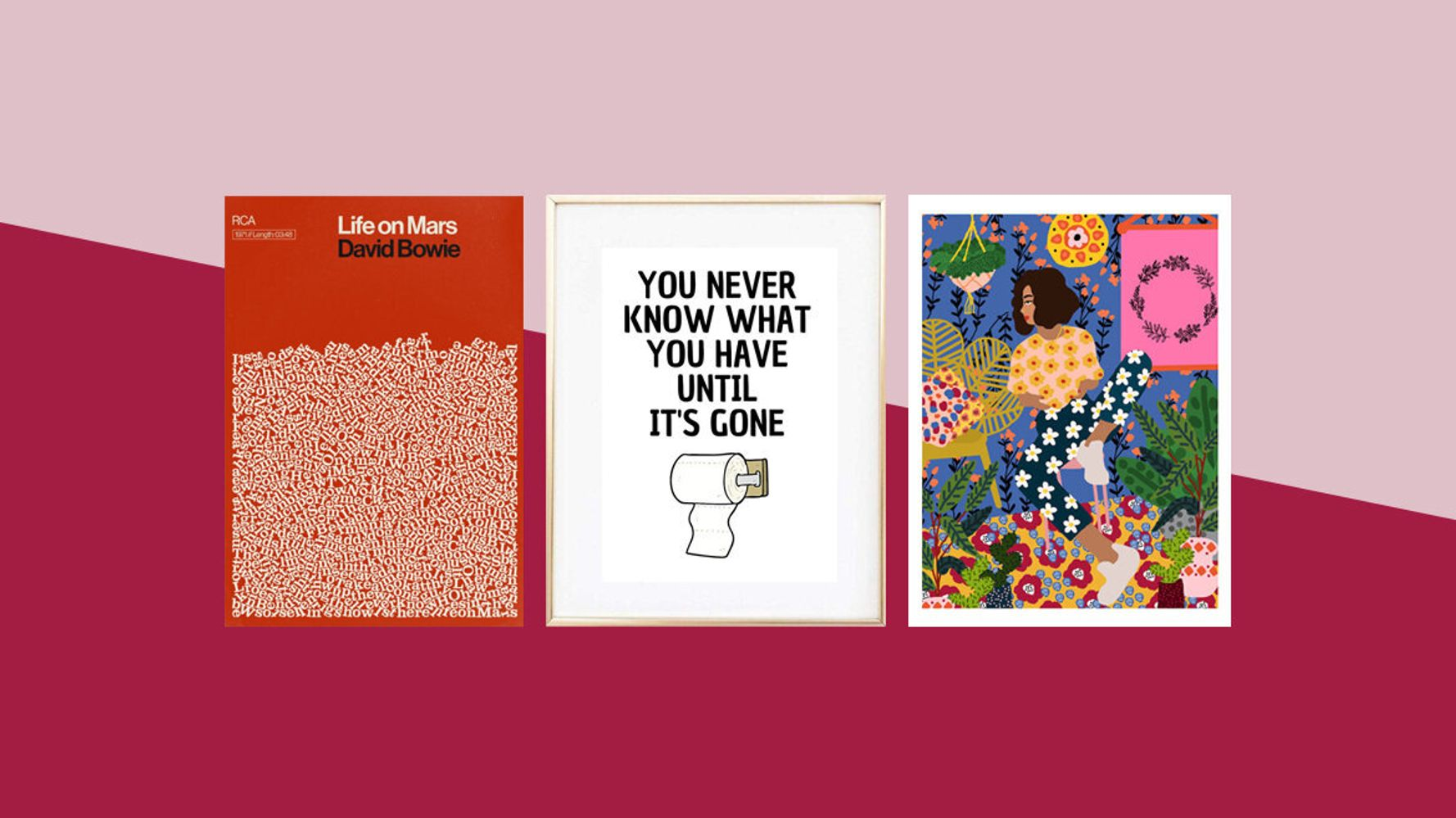8 Intriguing Prints To Look At While You're On The Loo