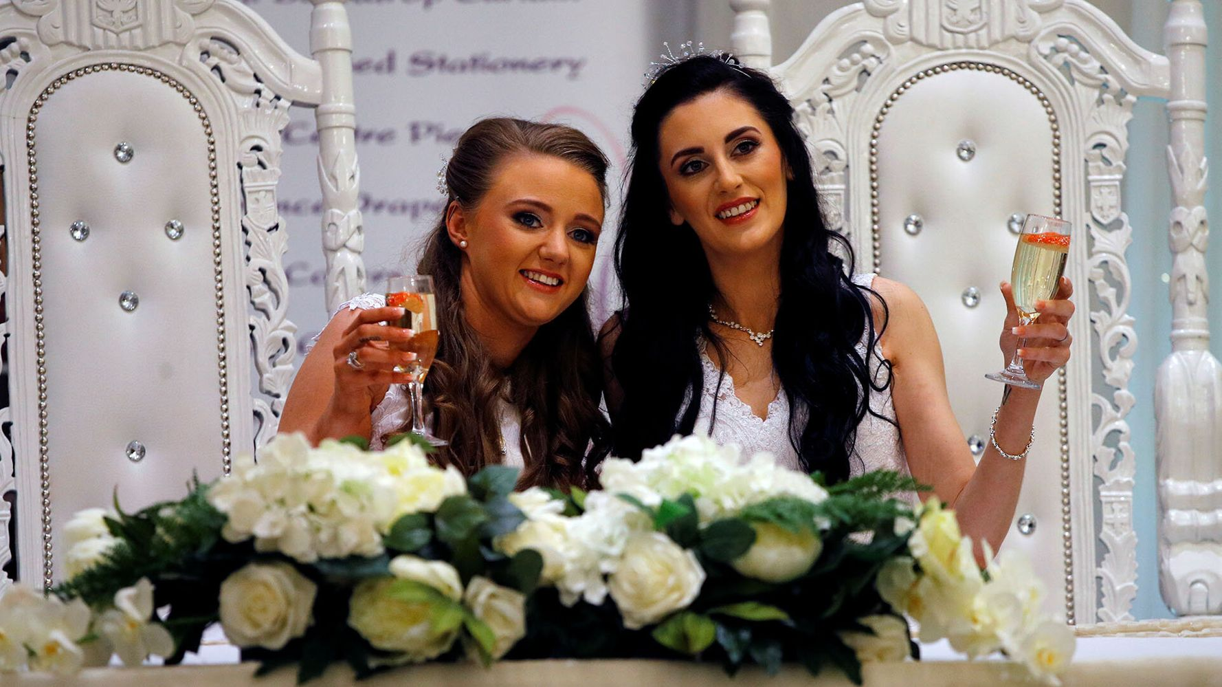 First Same-Sex Wedding Takes Place In Northern Ireland