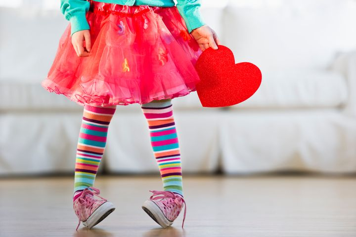 Parents should watch for signs that their children may be affected by Valentine's Day pressures.