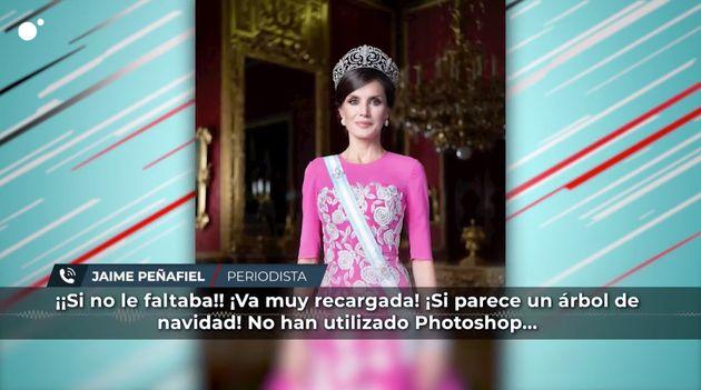 Peñafiel hablando de Letizia en 'Todo es