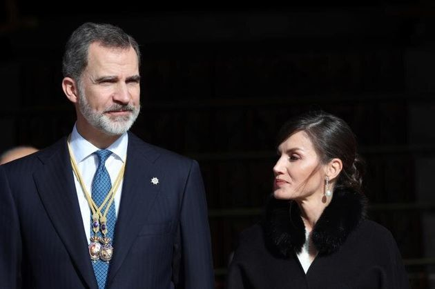 El rey Felipe VI (i) y la reina Letizia (d). EFE/Rodrigo