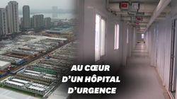 Coronavirus: voilà à quoi ressemble l'intérieur de l'hôpital construit en 10 jours en