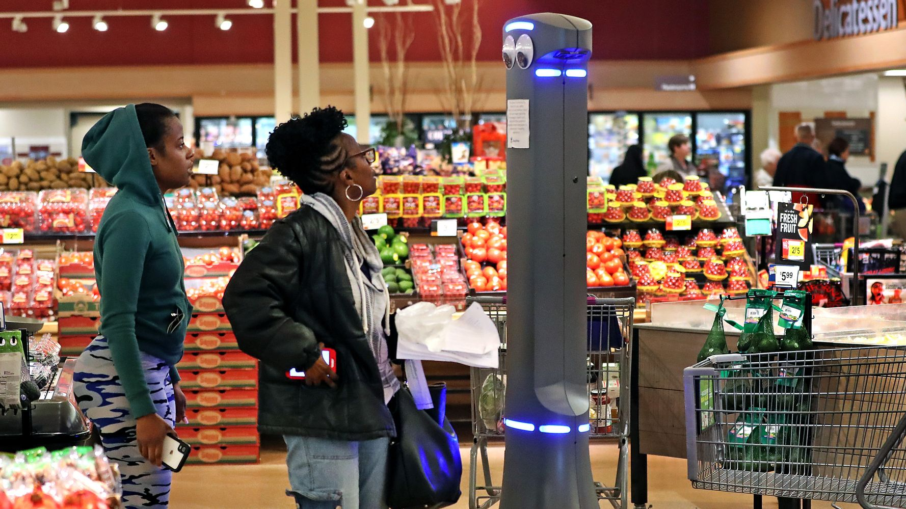 17 Tweets About Marty, The Shady Stop & Shop Robot