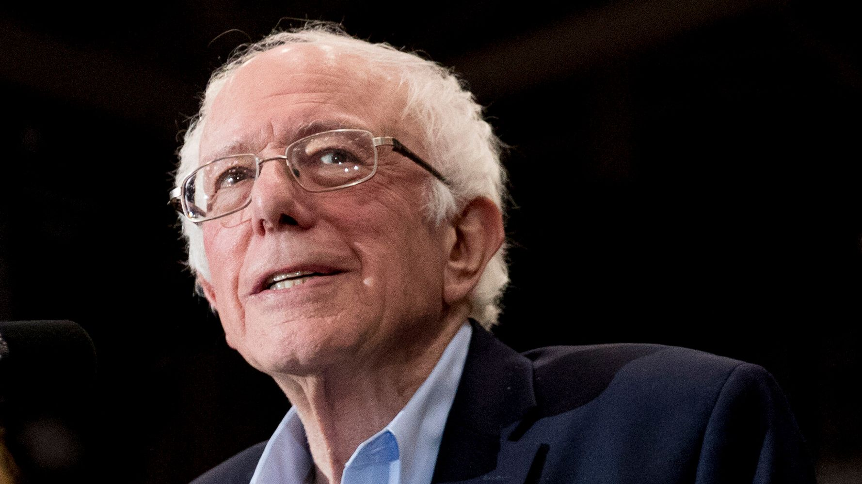 Westlake Legal Group 5e435cab2100003100e8a2bc Bernie Sanders Is The Front-Runner For Democratic Nomination