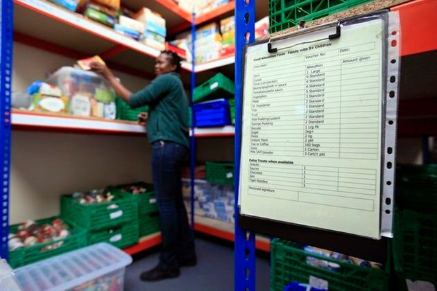 'Majority Of Low-Income Families Relying On Food Banks Have