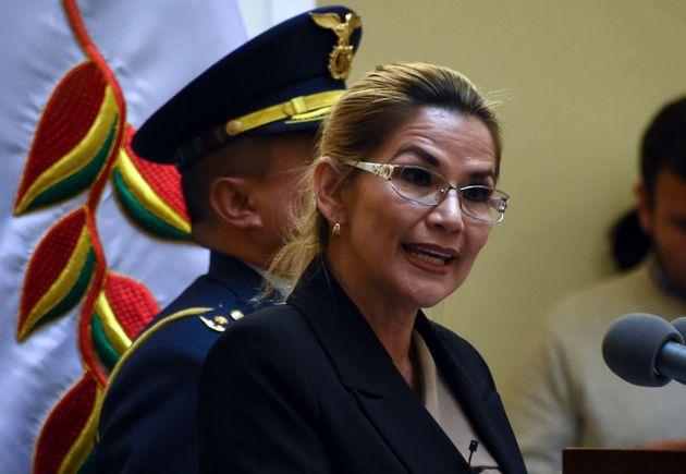 Jeanine Anez, presidenta interina de