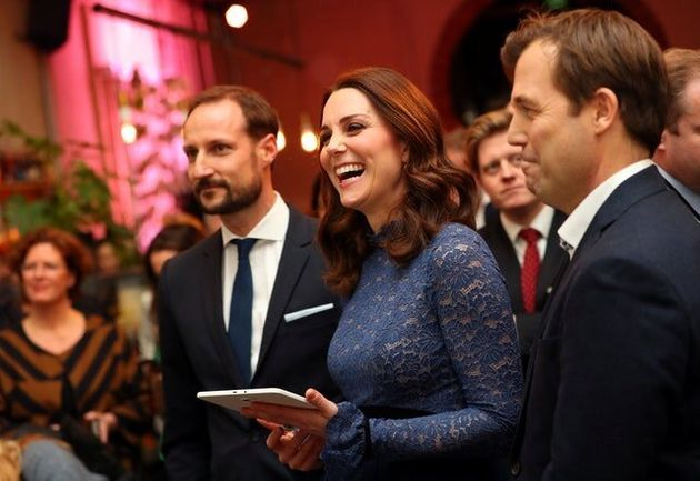 Norwegian Technology Takes William And Kate Back To Their Student