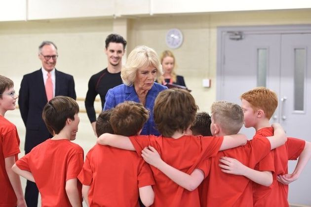 Camilla At Ballet Class: I Want To Be A Silver