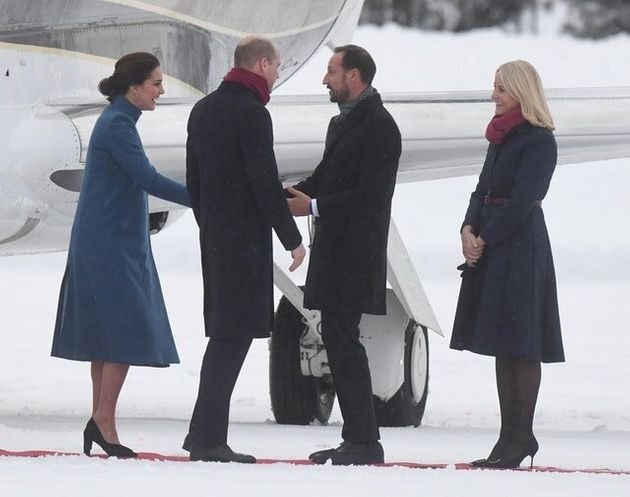 Warm Welcome To Chilly Norway For William And