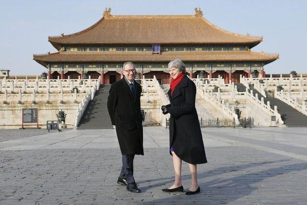 Britain And China Enjoying 'Golden Era' In Relationship, May Tells Xi