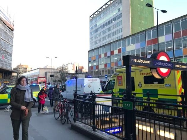 Passenger Taken To Hospital After Being Rescued From Beneath Tube