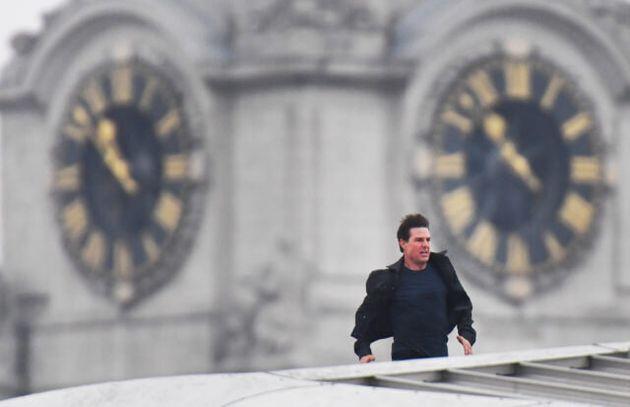 Tom Cruise Films Hair-Raising Mission: Impossible Stunt On Blackfriars