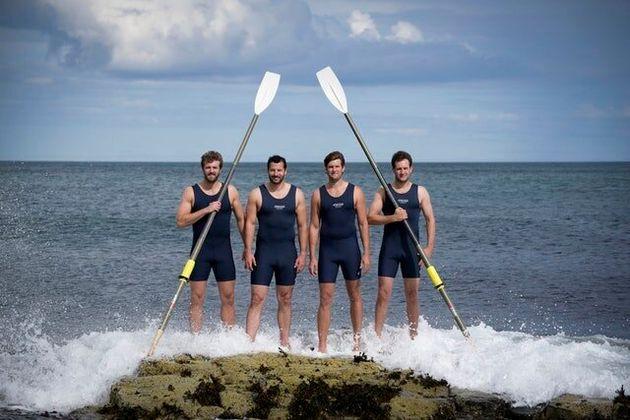 UK Quartet Celebrate After Breaking Atlantic Rowing