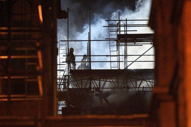 Huge Blaze At Five-Storey University Of Bristol Building Started