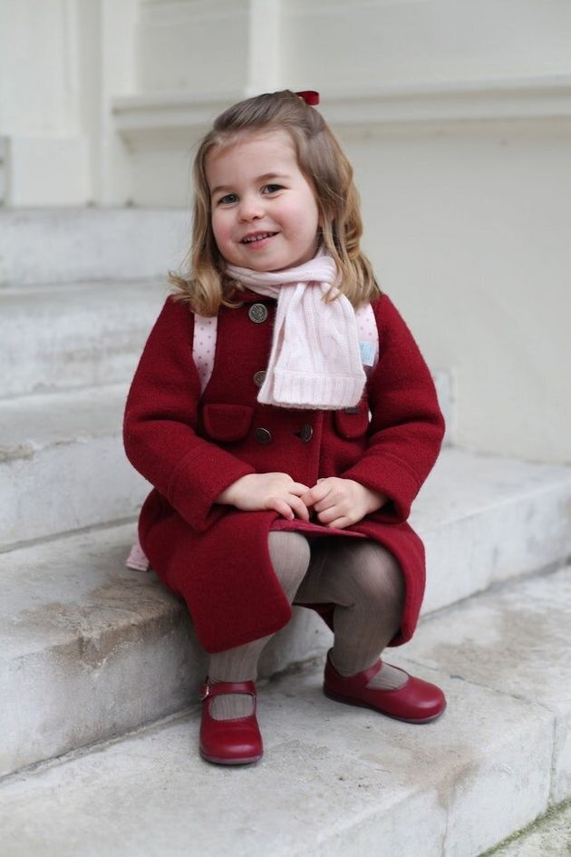As Princess Charlotte Starts Nursery, Here'S Pictures Of Other Royals On Their First