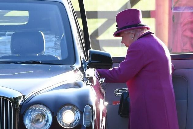 William And Kate Join The Queen At Sandringham Church