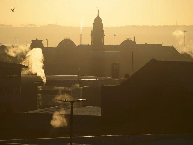 In Pictures: Wintry Scenes As Temperatures Plummet Across