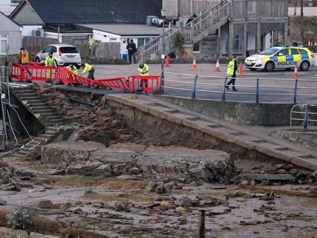 Residents Offered Sanctuary As Storm Eleanor Brings Darkness And