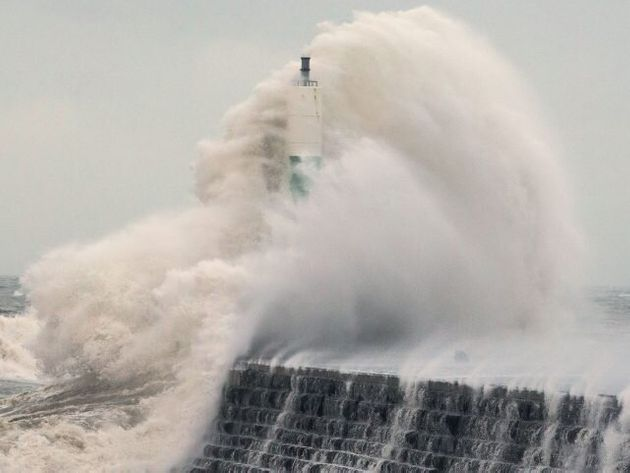 In Pics: Storm Eleanor Batters UK And