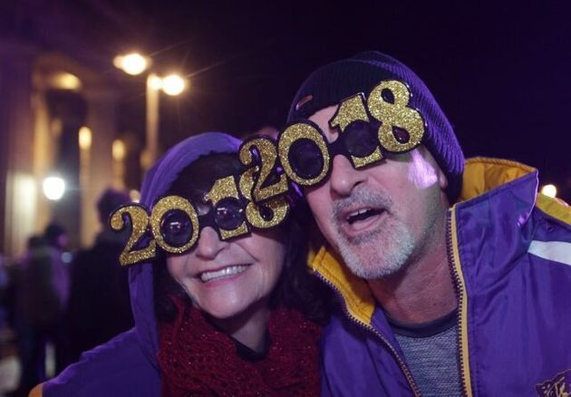 Thousands Turn Out Across UK For Spectacular New Year