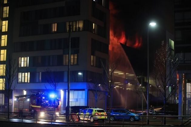 1,400 Vehicles Destroyed In Fire At Liverpool Multi-Storey Car