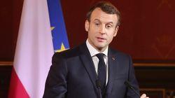 Macron réaffirme le