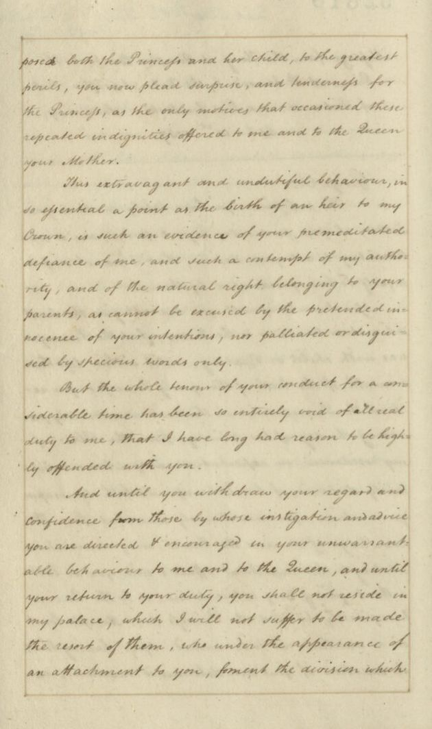Online King George II Letter Sheds Light On Dispute With