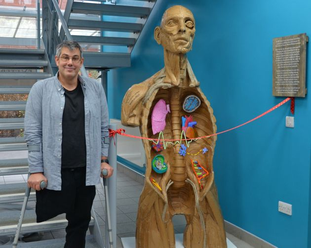 Sculptor Creates Anatomical Torso From