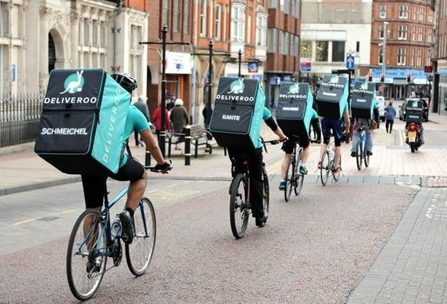 Deliveroo 'First' To Offer Riders Sickness And Accident