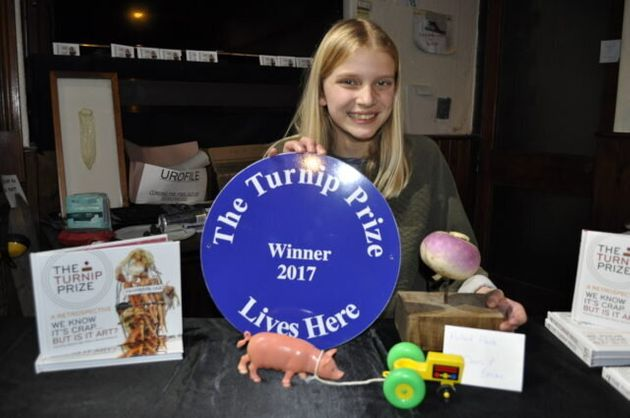 In Pictures: Bacon Wins Turnip Prize With Pulled