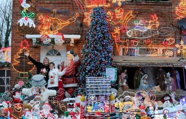 Christmas Lights Spectacular For Charity Grew From Bid To Wind Up