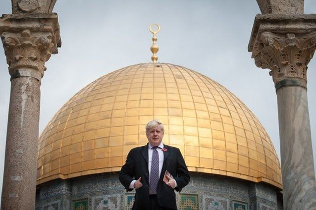 Boris Johnson Voices 'Concern' At Expected Announcement That US Embassy Is Moving To